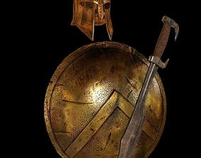 3D model Spartans armor