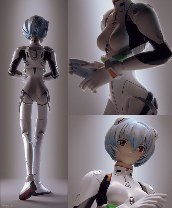 Rei Ayanami - Revoltech toy