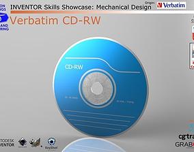 Inventor Skills - Verbatim CD-RW 3D model