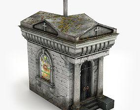 Lowpoly Tomb 5 3D model