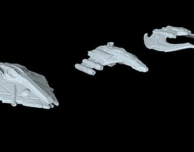 3D printable model Starfighters