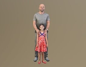 3D No114 - Father and Daughter