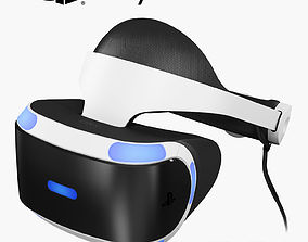 Sony PlayStation VR 3D asset