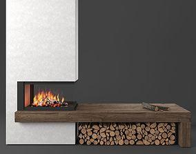 3D model MA 272 SL fireplace Piazzetta