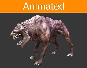 Infernal dog 3D model