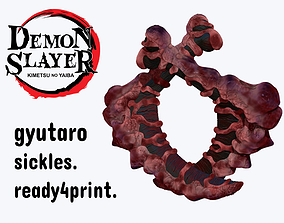 Upper moon 6 Gyutaro sickle weapon for 3d printing