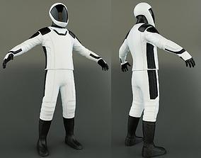 Space X Dragon Suit 3D asset