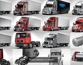 Trucks Collection 3D model