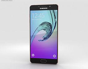 Samsung Galaxy A7 2016 Rose Gold 3D
