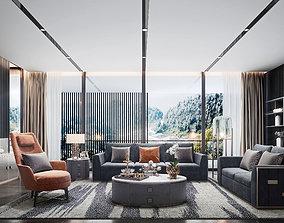 3D model The sitting room