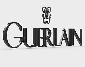 guerlain logo 3D model