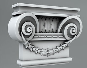 Pilaster Capitals 3D model architecture