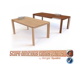 3D model Table OMNIA CALLIGARIS