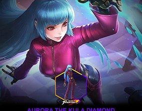 mlbb aurora the kula diamond 3D printable model