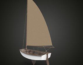 Sailing ship x 3D model