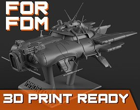 Immortal flying car for FDM printers 3D printable model