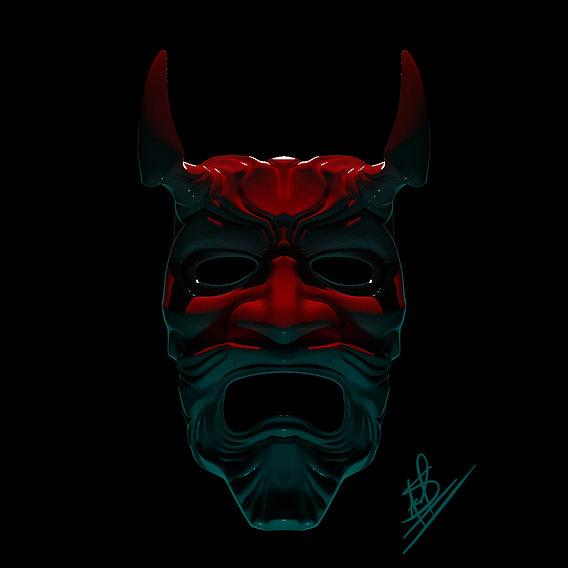 Red Oni Demon