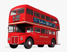 3D model public London Bus