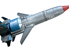 3D printable model Thunderbirds Are Go Number One Rocket