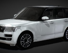 Range Rover Vogue SUV 3D Model low-poly
