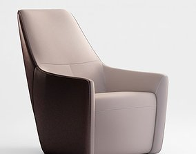 3D model Knoll Foster 520 armchair