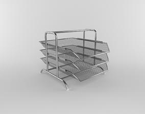 Office tray 3D