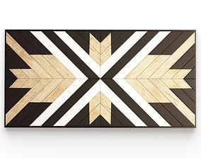Decorative Wooden Frame 3D model
