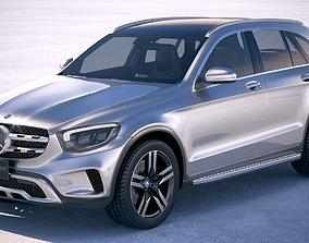 3D model Mercedes-Benz GLC 2020