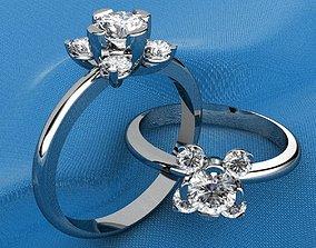 3D print model Flower Style Ring