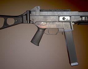 3D asset HK UMP-45