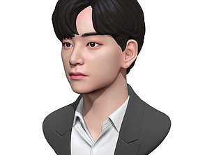 BTS V kpop 3D print model