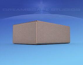 3D asset Cardboard Box