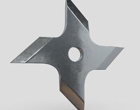 Shuriken 2 3D model realtime