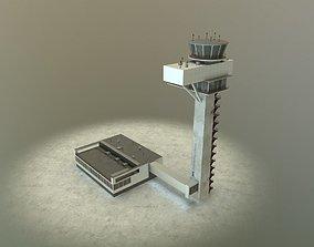 3D model EDDB Control Tower