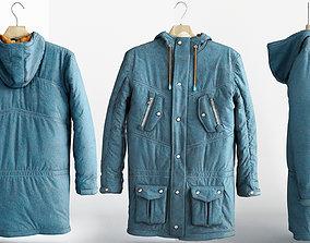 3D asset winter jacket N2