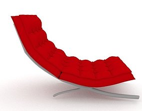 3D asset PBR Barcelona Chair