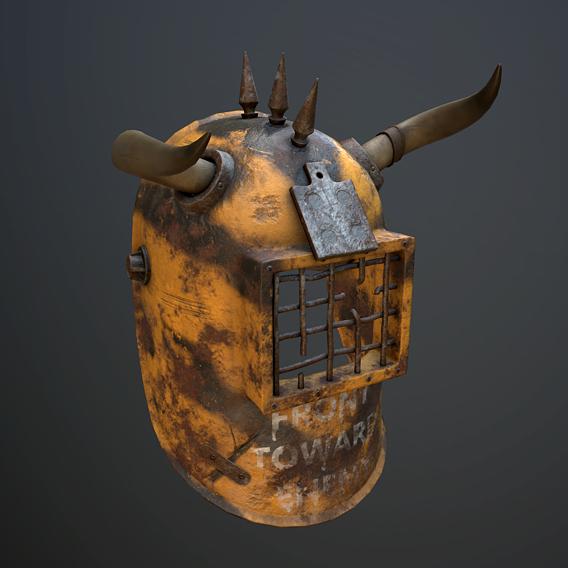 Helmet with horns
