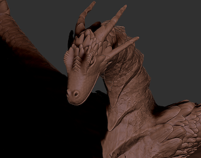 Scally Kaiju Dragon 3D sculpt model