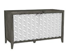 3D Hooker furniture Melange Bellamy sideboard
