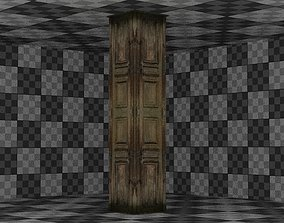 Wooden Column 02 3D model