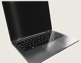 Generic Ultrabook Laptop Notebook 3D model