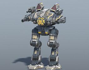 3D asset Goliath BattleMech