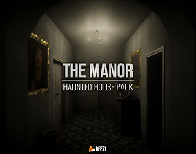 The Manor - Haunted House Pack 3D asset