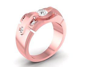 LUXURY DIAMOND RING 44 3D print model