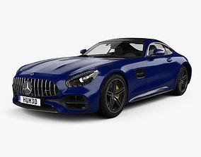 3D model Mercedes-Benz AMG GT C coupe 2016