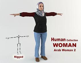 Arab Woman 2 3D model