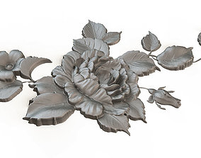 Decorative Bas-relief 3D model Dec040