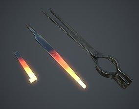 Forging Tongs 3D model
