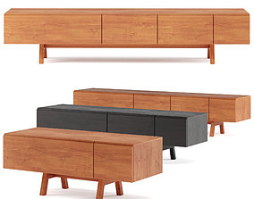 3D asset Sidebar No7- ZEITRAUM sideboard with drawers