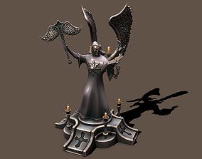 Statue preacher 3D model